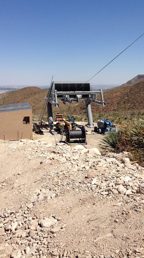 Mount Franklin Aerial Tramway Replacement - El Paso, Texas